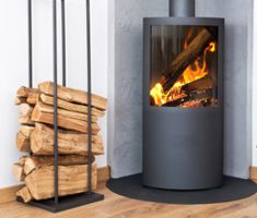 firewood log burner